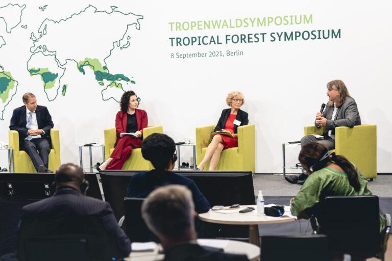 GIZ Tropenwaldsymposium. Berlin, 08.09.2021. Copyright: Xander Heinl/photothek.de